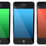 Coloured smartphones
