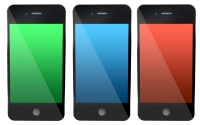Coloured smartphones